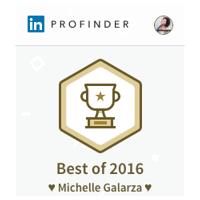LinkedIn ProFinder Award - 2016